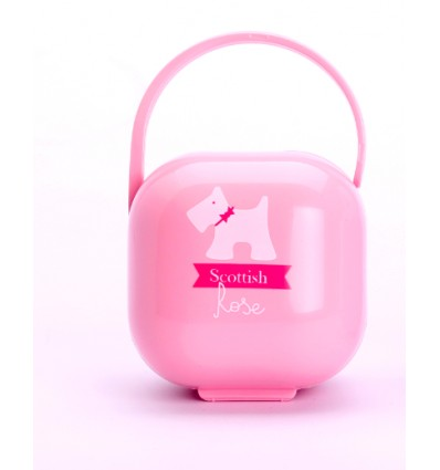 Soother Holder Pink
