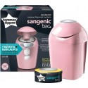 Tommee Tippee Sangenic Tec Nappy Disposal System with 1 free cassette