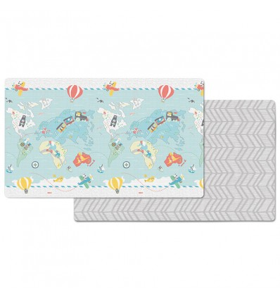 Skip Hop: Reversible Playmat Little Travelers