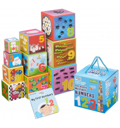 Sassi Junior - Eco Blocks My First Numbers