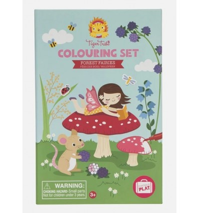 Tiger Tribe - Colouring Set - Forest Fairies
