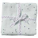 Done By Deer - Swaddle, 2-pack, Dreamy Dots - Blue