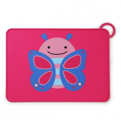Zoo Silicone Placemat Butterfly