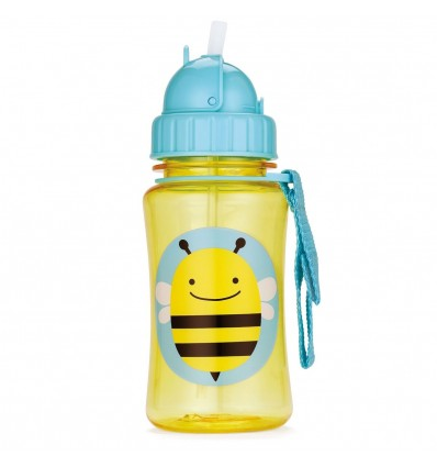 Zoo Straw Bottle Bee