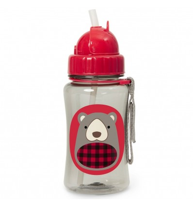 Zoo Straw Bottle Bear