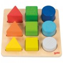 GOKI: Colour and Shape Assorting Board